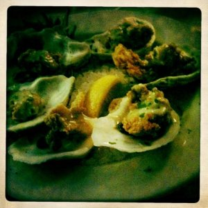 Best Fried oysters on the planet at Mr. B's